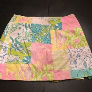 Lilly Pulitzer Bottoms - Lilly Pulitzer- Girls Skort Size 8